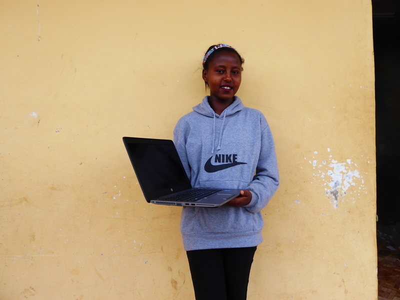 Laptops help students take the next step in their education