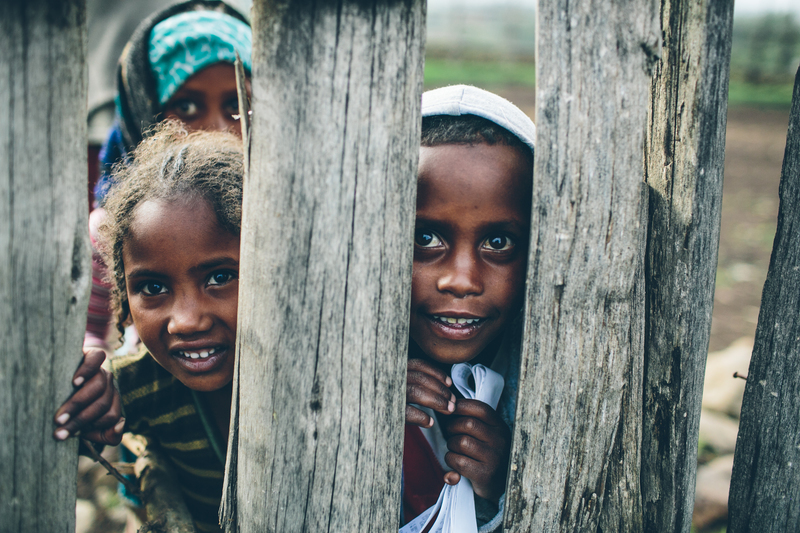 Rescue kids in Ethiopia