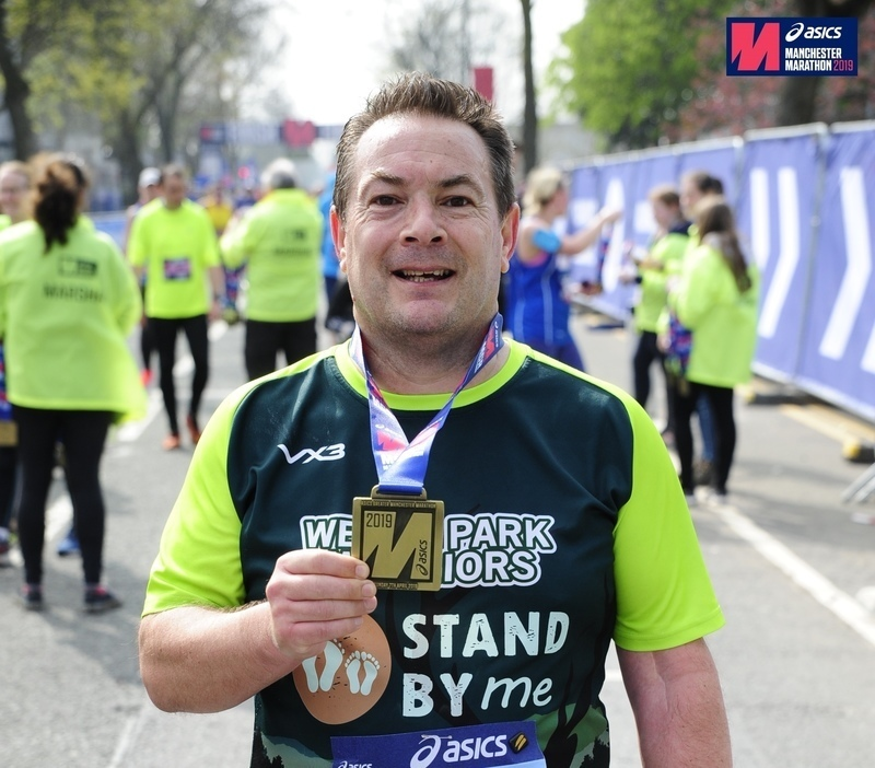 Simon's Manchester Marathon funds teachers