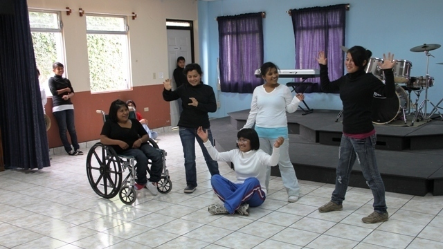 A taste of theatre for our girls in Guatemala