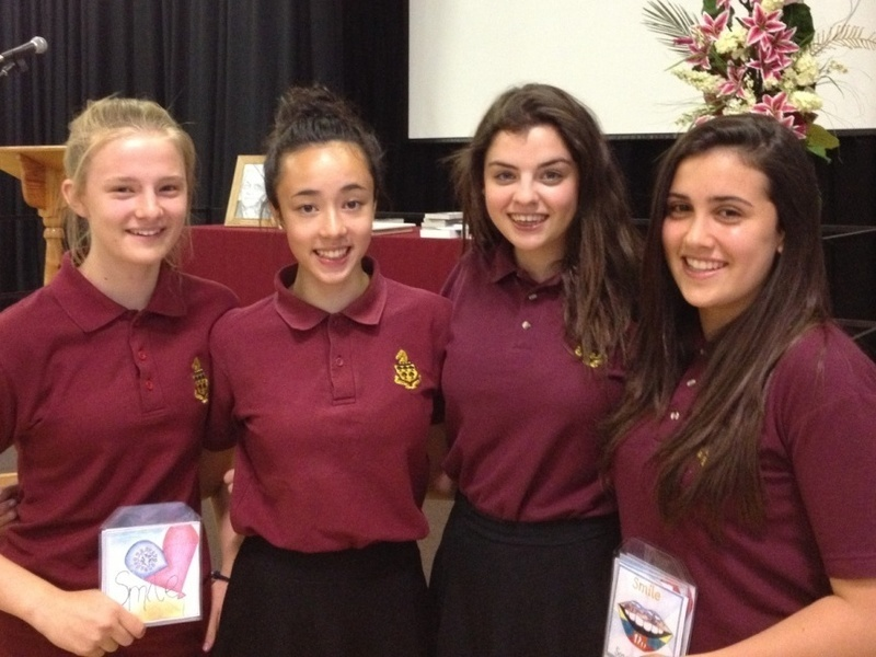 Students sing and stride for Sophia Academy