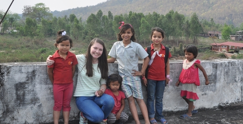 Jemma's trip to our Nepal Home