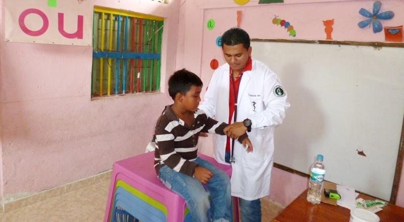 Doctors' visit to Guacamayal