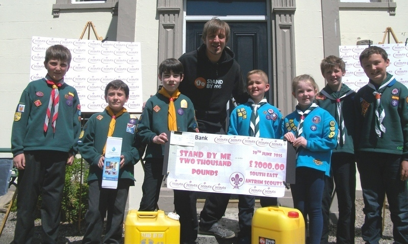South East Antrim Scouts provide clean water