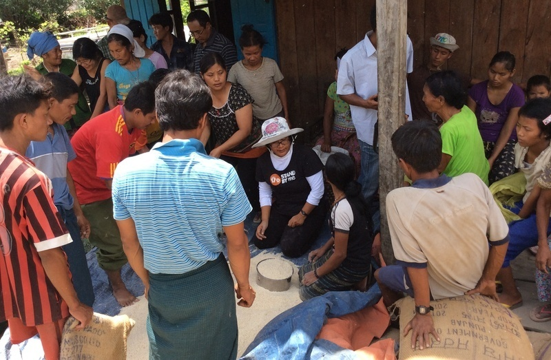 Meeting the needs of villages in Burma
