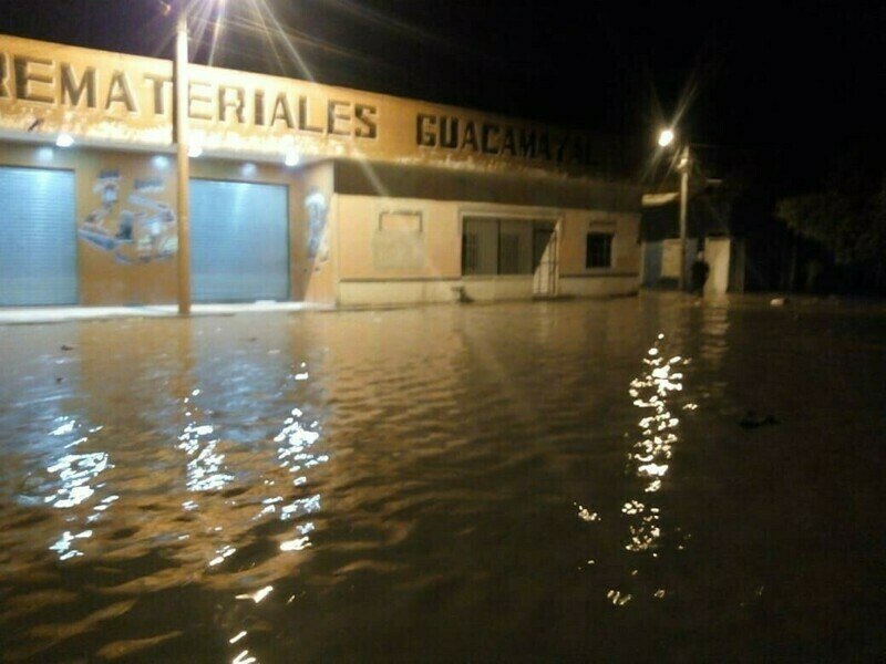 Flooding in Colombia